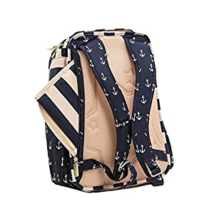 Ju-Ju-Be Legacy Nautical Collection Be Right Back Backpack Diaper Bag by Ju-Ju-Be