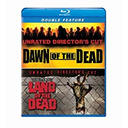 Dawn of the Dead / George A. Romero's Land of the Dead Double Feature [Blu-ray]