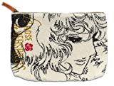 ベルサイユのばら サガラ刺繍ポーチ ブラック