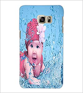 PrintDhaba Cute Baby D-2817 Back Case Cover for SAMSUNG GALAXY NOTE 5 (Multi-Coloured)