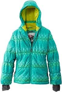 Protest Preppy Veste de ski fille Mint Gum FR : 10 ans (Taille Fabricant : 140)