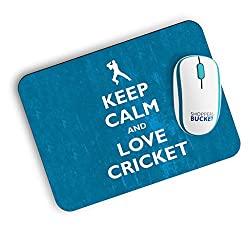 Shoppers Bucket Love Cricket Mousepad (FREE SHIPPING)
