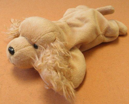 TY Beanie Babies Spunky the Cocker Spaniel Dog Plush Toy Stuffed Animal
