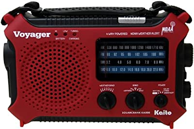 Kaito KA500 5-way Powered Emergency AM/FM/SW Weather Alert Radio