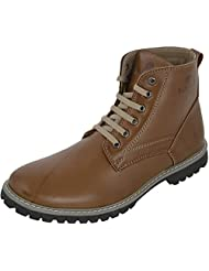 Eighteen Plus Casuals Men's Leather Boots - B0198F2AFU
