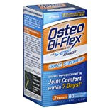 Osteo Bi-Flex Advanced Glucosamine Chondroitin MSM with Joint Shield, Triple Strength, Coated Caplets, 80 ct.