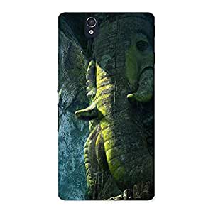 Rock Ganesha Back Case Cover for Sony Xperia Z