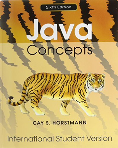 Java Concepts: for Java 7 and 8 (Wiley Plus Products)