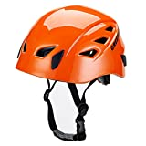 GREENROAD (グリーンロード) ハーフドーム ギャラクシー レッド アルパインクライミング用ヘルメット登山用ヘルメット防護帽 キャンプ アウトドア 装備 旅行用品 釣り 探洞 救援 全6色(オレンジ)