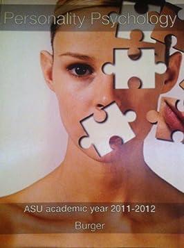 Personality Psychology- ASU Academic Year 2011-2012