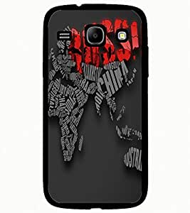 ColourCraft Typography Design Back Case Cover for SAMSUNG GALAXY CORE I8262 / I8260