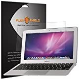 FlexShield [3-Pack] - Apple Macbook Air 11 (2010-2012) Screen Protector with Lifetime Replacement Warranty - Ultra Clear Japanese PET Film - Bubble-Free HD Clarity with Anti-Fingerprint & Scratch Resistance