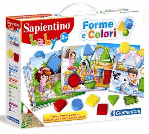 Clementoni - 12890 - Sapientino Baby Forme e Colori