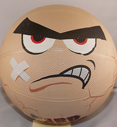 "Full Size Hard Boiled Egghead Basketball Set (9.5"" Basketball) - 1"