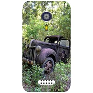 Micromax A116 Canvas HD Back Cover - Matte Finish Phone Cover