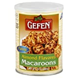 Gefen Macaroons, Almond, Passover, 10-Ounce (Pack of 4)