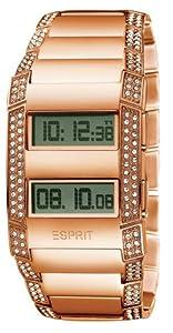 Esprit - ES101242703 - Montre Femme - Quartz Digital - Bracelet Acier Doré