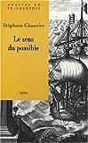 echange, troc Stéphane Chauvier - Le sens du possible