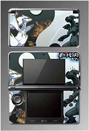 Pokemon Black HeartGold SoulSilver Diamond Game Vinyl Decal Cover Skin Protector #18 for Nintendo 3DS