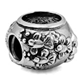 Fish Bowl 925 Solid Sterling Silver Charm, OHM is Compatible with Other european bracelets