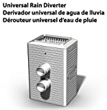 Universal Rain Barrel Diverter - Fits most brands of rain barrels