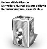 Universal Rain Barrel Diverter - Fits most brands of rain barrels