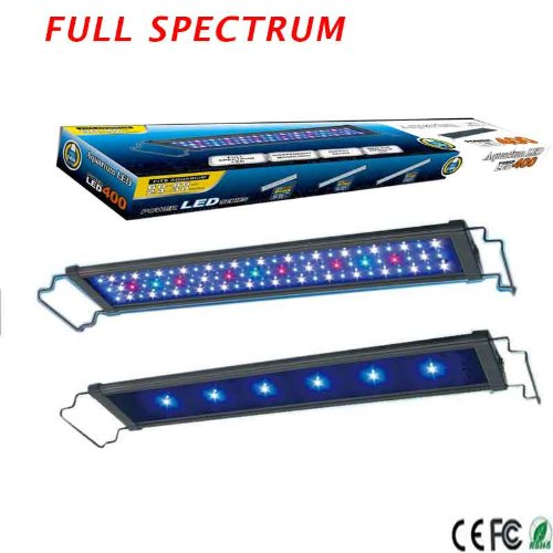 "24""-30"" Inch 78*0.2W 4 Colors Led Aquarium Light Freshwater Plant Tropical Fish"