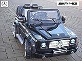 MERCEDES-BENZ G55 ! EVA-Räder Einsitzer Originallizenz Kinderauto mit Fernbedienung 12V