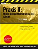 img - for CliffsNotes Praxis II: Middle School Mathematics Test (0069) Test Prep book / textbook / text book