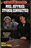 Mrs. Jeffries Stands Corrected (Victorian Mystery) (0425155803) by Brightwell, Emily