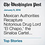 Mexican Authorities Recapture Notorious Drug Lord 'El Chapo,' the Sinaloa Cartel Kingpin   Joshua Partlow,Elahe Izadi