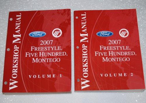 2007-ford-freestyle-five-hundred-mercury-montego-workshop-manuals-2-volume-set
