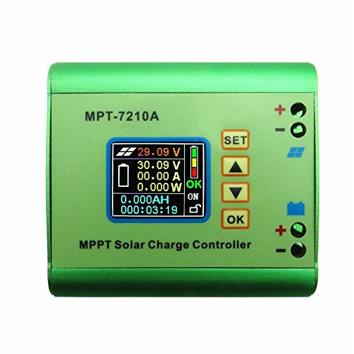 Y-SOLAR MPPT Solar Charge Controller Solar Panel Batteries Regulator 24/36/48/60/72V 10A Compatible DC-DC Boost Charging Function (Solar Panel Voltage Controler compare prices)