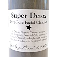 Super Detox - Organic Deep Pore Facial Cleanser with Activated Charcoal - 8.9 oz w/Pump top from Angel Face Botanicals