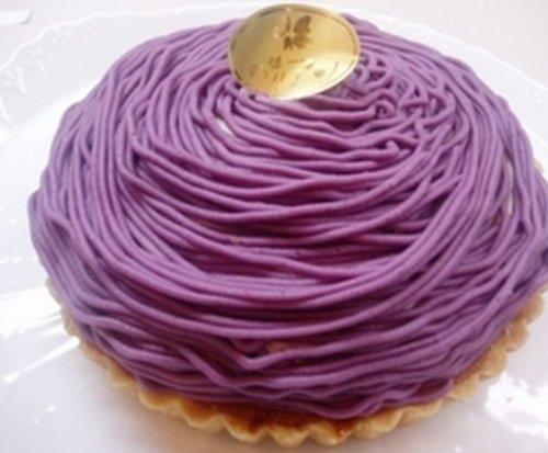 ロリアン洋菓子店 紫芋のモンブラン6号サイズ  直径18?1台
