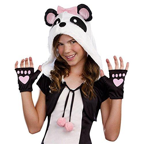 GSG Panda Costume Teen Panda Bear Halloween Fancy Dress (Adult Cheer Bear Dress)