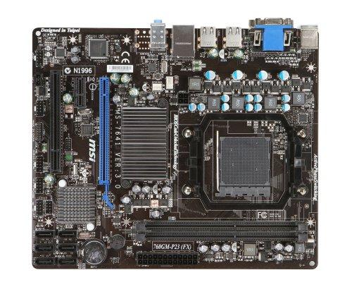 MSI 760GM-P23 (FX) Micro ATX AM3+ Motherboard (760GM-P23 (FX