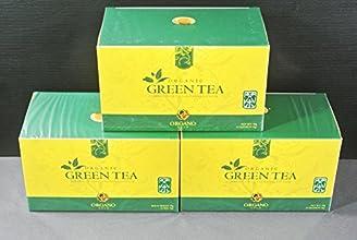 3 boxes Organo Gold Gourmet Green tea 100 organic Ganoderma bagged 25 sachets per box