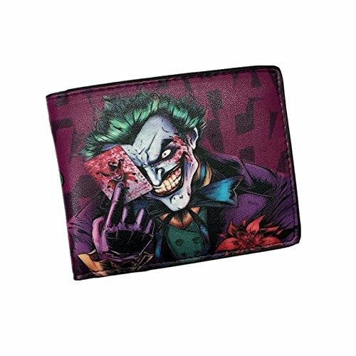 Batman , Portafogli  Multicolore viola