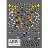 TSUMEKIRA ネイルシール ハロウィン2 カラフル NM-HLW-201 メンズスタイル アート材