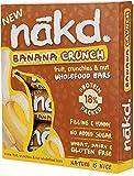 Nakd Banana Crunch Raw Fruit, Nut & Oat 30g (16 Bars)