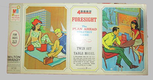 Vintage 4CYTE (Foresight) Word Game (1967) - 1