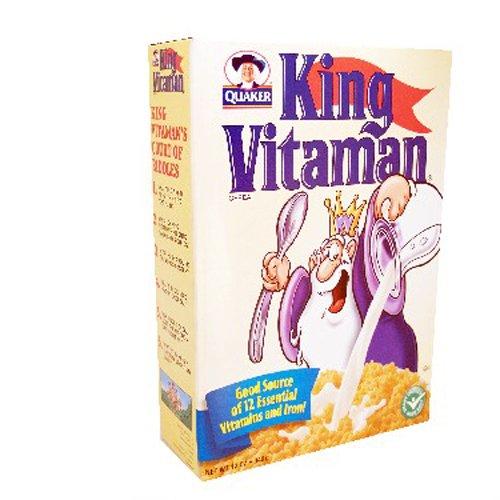 King Vitamin Cereal 12 Oz Box 4 Unit Pack