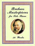 echange, troc Brahms - Brahms Masterpieces : 29 pièces pour piano - Piano