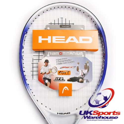 Head Nano Titanium TI.Conquest New Adult Tennis Racket rrp£50