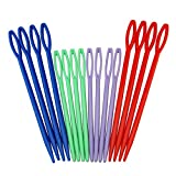 HIGHROCK Colorful Plastic Sewing Needles 16picks