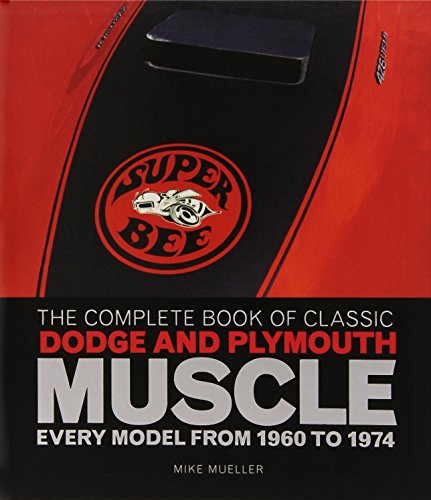 The Complete Book of Classic Dodge and Plymouth Muscle: Every Model from 1960 to 1974 (Complete Book Series) (Mopar Model Cars compare prices)
