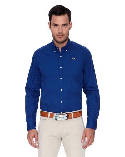 La Martina Camisa Azul