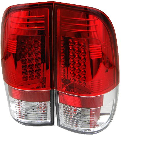 Spyder Auto Ford Mustang Red Clear Led Tail Light