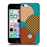Head Case Teal Scales Japanese Pattern Hard Back Case Cover For Apple iPhone 5c
